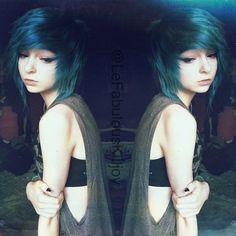 Hallucineon On Instagram Im Loving This Mirror Effect Xd U Emo Girlscool