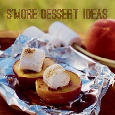 Because #camping just isn't complete without s'mores! Check out our latest concoction that include #peaches. Yum! http://www.highwaywestvacations.com/smore-dessert-ideas/