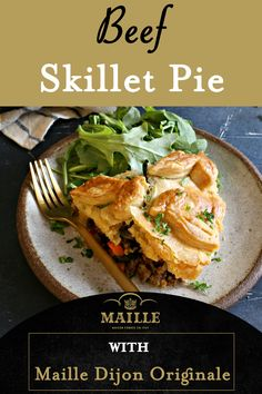 Skillet Dinners, Skillet Recipes, Casserole Recipes, Meat Recipes, Dinner Recipes, Cooking Recipes, Easy Weeknight Meals, Quick Meals, Pie Bakery