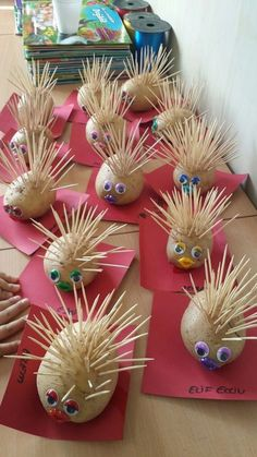 Hedgehog – # Hedgehog - Easy Crafts for All Kids Crafts, Diy Crafts Videos, Diy And Crafts, Autumn Crafts, Summer Crafts, Christmas Crafts, Toddler Activities, Preschool Activities, Nursery Activities