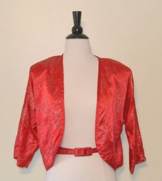 Vintage 1980s California Cargo Red by KrisVintageClothing on Etsy, $32.00