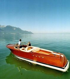 Beautiful Wooden Boats - Riva