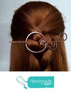 Copper Hair Barrettes Hair Stick Hair Jewelry Hair Slides Hair Pin from wandahandmade https://www.amazon.com/dp/B01GY48KSY/ref=hnd_sw_r_pi_dp_COnxxbKBTP7DZ #handmadeatamazon