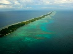 Also located in the South Pacific, halfway between Hawaii and Australia, the atolls and reefs of the Marshall Islands are home to beautiful dive sites. Yet, the capital of Majuro, which rises just three feet above sea level, is regularly flooded by high tides in February and March.