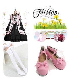 """sweet lolita dress"" by garciavillona on Polyvore"