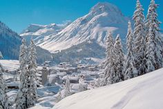 Lech am Arlberg – an exclusive winter ski resort of infinite style and sophistication in the Austrian Alps Places To Travel, Places To Visit, Best Ski Resorts, Ski Season, Ski Holidays, Trip Advisor, Beautiful Places, Around The Worlds, Snowboarding Resorts