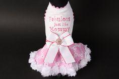 Fabulous Just Like Mommy Dog Dress by JustForBella on Etsy