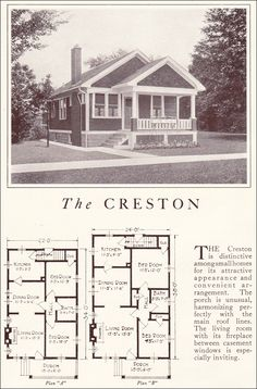 1922 Lewis Homes Of Character   The Creston