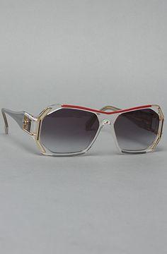 Vintage Eyewear Cazal 182 Sunglasses in Clear Glasögon 09465d7082808