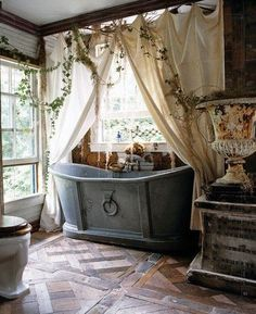 rustic, French country