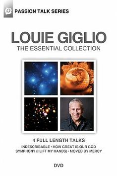 Louie Giglio Passion Talk Series: The Essential Collection 4 Set - DVD | 4 Full Length Talks | $22.92 at ChristianCinema.com