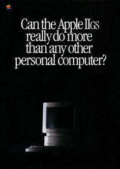 1986 Apple IIGS Ad Page 1