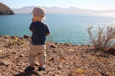 Always a place to hike in Baja Mexico. Lowe, 20-months-old, enjoying the view.