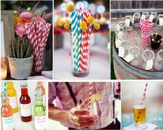 I literally have over 200 striped straws in various colors, a must for any party! Elegant Table Settings, Lulu Love, Sweets Cake, Get The Party Started, Paper Straws, Event Decor, Party Time, Stripes, Table Decorations