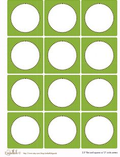 FREE Gray and Green Party Printables From Embellish | Catch My Party