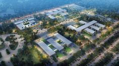 IAD designed the 'UNIVERSITY CAMPUS DENIS SASSOU NGUESSO' in Kintele, Congo. http://en.51arch.com/2013/09/a835-university-campus-denis-sassou-nguesso/