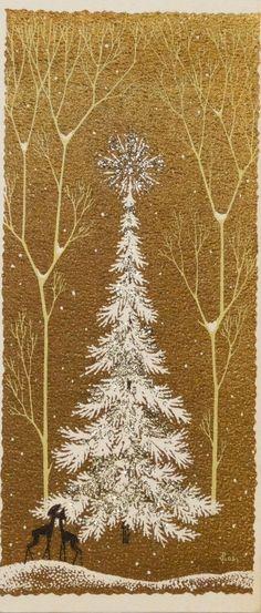 Vintage Christmas card Vintage Christmas Cards, Vintage Holiday, Christmas Greeting Cards, Christmas Art, Vintage Cards, Christmas Holidays, Christmas Windows, Xmas Greetings, Holiday Images