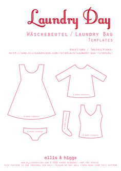 Wäschebeutel / Laundry Bag Tutorial