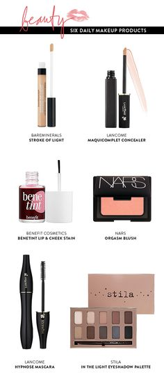 6 Daily Beauty Products