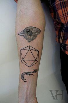 Figure sulla pelle, il tatuaggio è una geometria
