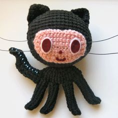 Was working on an octopus and a software engineering project when my friend sent me the Github Octodex (https://octodex.github.com). Google gave me this when I searched for octocat amigurumi. <3
