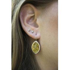 Ezüst medál és fülbevaló szett borostyán kővel /67849/ 2 Diamond Earrings, Drop Earrings, Jewelry, Jewlery, Jewerly, Schmuck, Drop Earring, Jewels, Jewelery