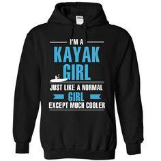 I am a kayak girl