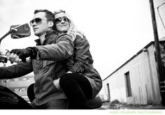 Motorcycle engagement pics make me happy. Engagement Photo Inspiration, Engagement Pictures, Engagement Shoots, Engagement Photography, Photography Poses, Wedding Photography, Motorcycle Engagement Photos, Let's Get Married, Couple Shoot
