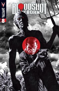 Bloodshot Reborn #8 Cover A by Mico Suayan