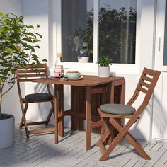 IKEA - ÄPPLARÖ, Gateleg table, outdoor, brown stained brown, 2 folding drop-leaves allow you to adjust the table size according to your needs. Seats Only recommended for outdoor use. Rustic Outdoor Furniture, Wooden Furniture, Home Furniture, Outdoor Decor, Antique Furniture, Furniture Ideas, Furniture Layout, Furniture Design, Furniture Logo