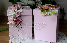 Create this lovely Gift Box and dress it any way you like