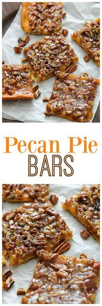With the holidays coming up we could all use an easy dessert when entertaining guests. These Pecan Pie Bars will do the trick with ease! @pillsbury #itsbakingseason