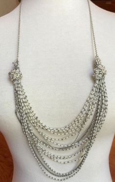 Auth Chan Luu Seed Bead Statement Necklace Cinder Combo | eBay