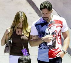 Meet the family! Sofia Vergara and Joe Manganiello packed on the PDA at dinner before a double date with Joe's brother, Nick Manganiello, and his pregnant wife, Lena. Get all the details from their romantic night out!