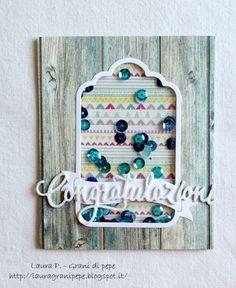 Grani di pepe: Congratulazioni - card
