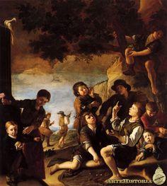 Niños jugando - Obra - ARTEHISTORIA V2