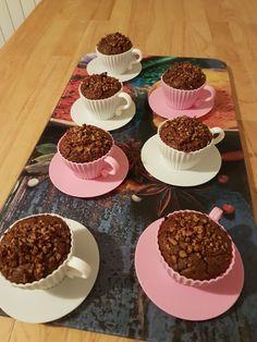 Brownies calientes con pecanas