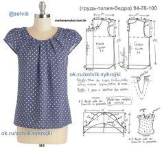 Amazing Sewing Patterns Clone Your Clothes Ideas. Enchanting Sewing Patterns Clone Your Clothes Ideas. Dress Sewing Patterns, Blouse Patterns, Sewing Patterns Free, Clothing Patterns, Blouse Designs, Princess Dress Patterns, Sewing Blouses, Sewing Shirts, Costura Fashion