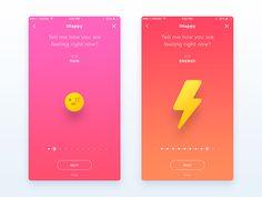 App WIP - UI/UX Design by Nimasha Sewwandi Perera