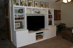 Logan Media Center / Classic Storage Collection | Do It Yourself Home Projects from Ana White
