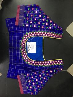 Discover thousands of images about Sudhasri hemaswardrobe Cutwork Blouse Designs, Kids Blouse Designs, Wedding Saree Blouse Designs, Simple Blouse Designs, Saree Blouse Neck Designs, Stylish Blouse Design, Mirror Work Blouse Design, Embroidery Blouses, Hand Embroidery