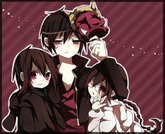 Tags: Anime, Pixiv, Durarara!!, Orihara Izaya, Orihara Mairu