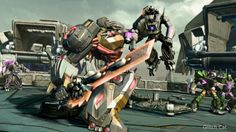 Transformers: Fall of Cybertron: Dinobot Screenshots   Glitch Cat