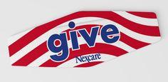 Nexcare™ Give 2010 Stripes bandage
