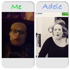 """See  even Adele is Using those Crazy Wrap thingy from """"It WORKS"""" go to Http://wrappingmscabral .myitworks .com (remember w/No Spaces) to Order Your Facial WRAP TODAY!!!"""