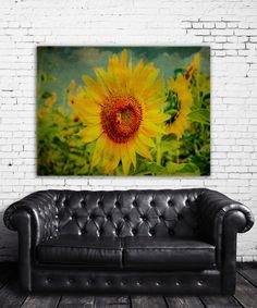 Look at this #zulilyfind! Sunflower Field Wrapped Canvas by Garbo Peng #zulilyfinds