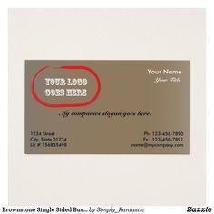 Fig single sided business card template v3 business cards and card brownstone single sided business card template v2 colourmoves