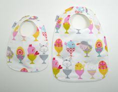 Easter bibs / Easter Toddler Bib/ Easter Baby by TextileTrolley, $10.00