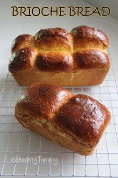 Brioche Bread Recipe - Yummy Tummy Aarthi - Yummy Tummy Bagel Bread, Muffin Bread, Bread Recipes, Baking Recipes, Brioche Bread, Yeast Rolls, Complete Recipe, Recipe Collection, Coffee Cake