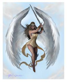 Guardian Angel - Tattoo art by *Shockbolt on deviantART
